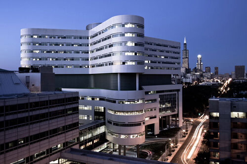 30. Rush University Medical Center - East Tower – Chicago, Illinois