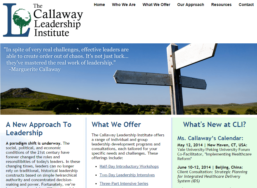 The-Callaway-Leadership-Institute