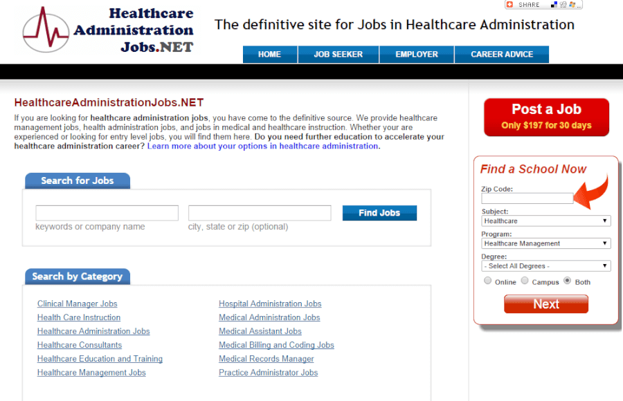 50 great websites for healthcare administrators, Human Body