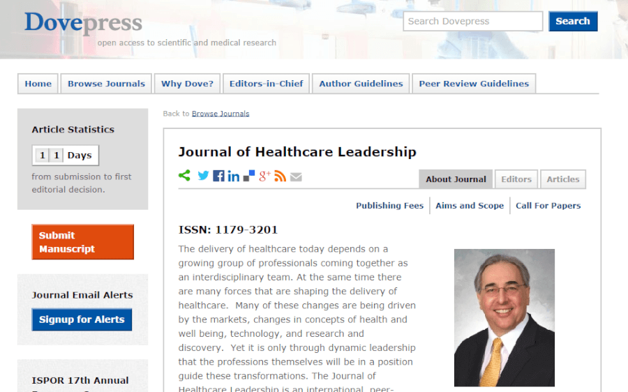 journal-of-healthcare-leadership